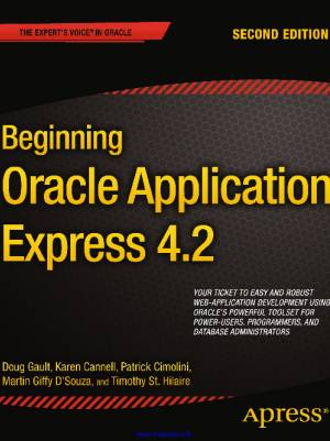 Downloadbook Beginning Oracle Application Express 4.2 2nd Edition
